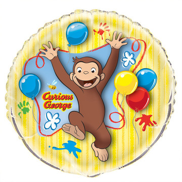 "Curious George 34"" Balloon (1)"