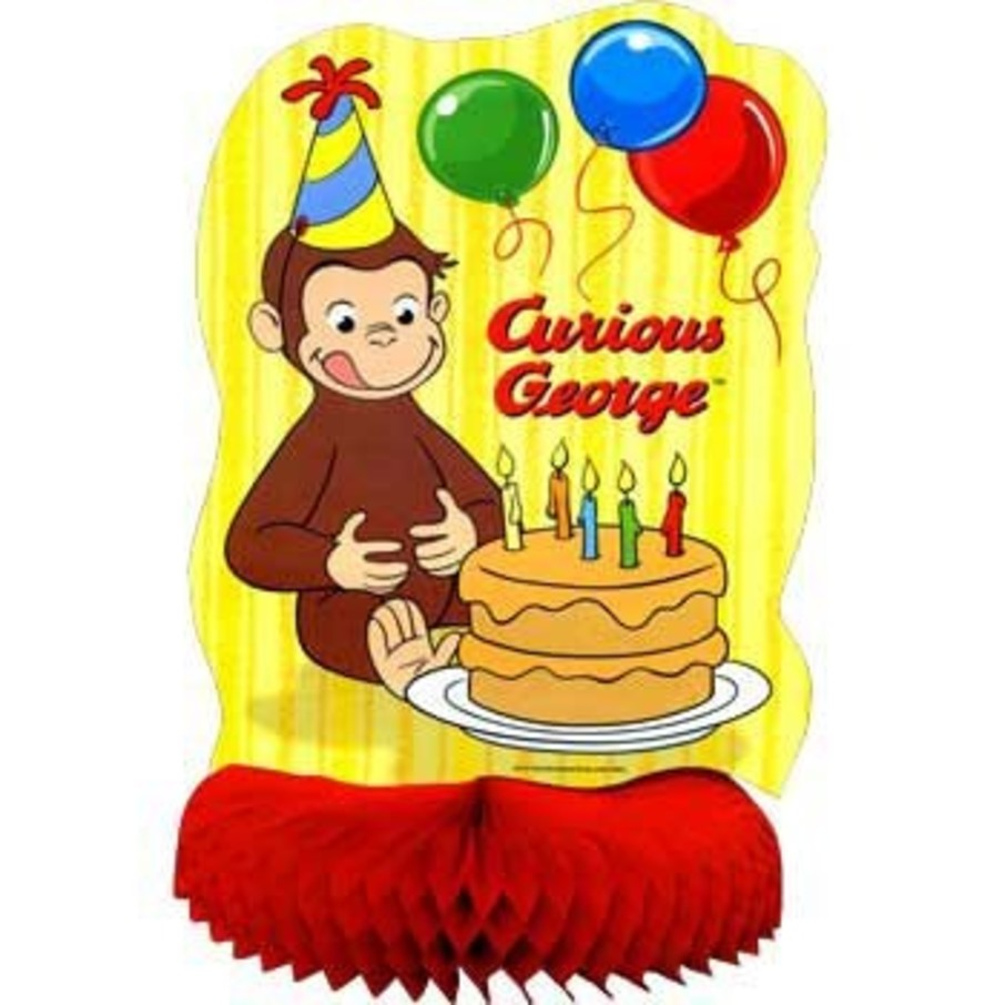 View larger image of Curious George Centerpiece (each)