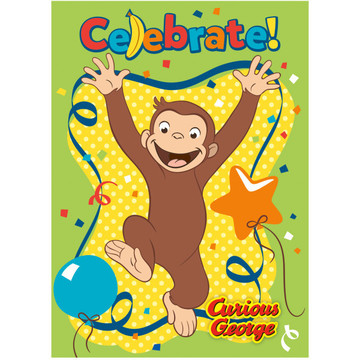 Curious George Invitations (8)