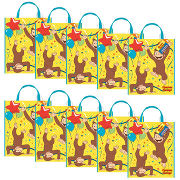 Curious George Tote Bag (Set of 10)