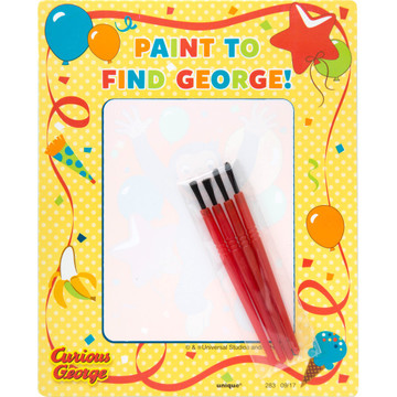 Curious George Watercolor Painting Sets (4)