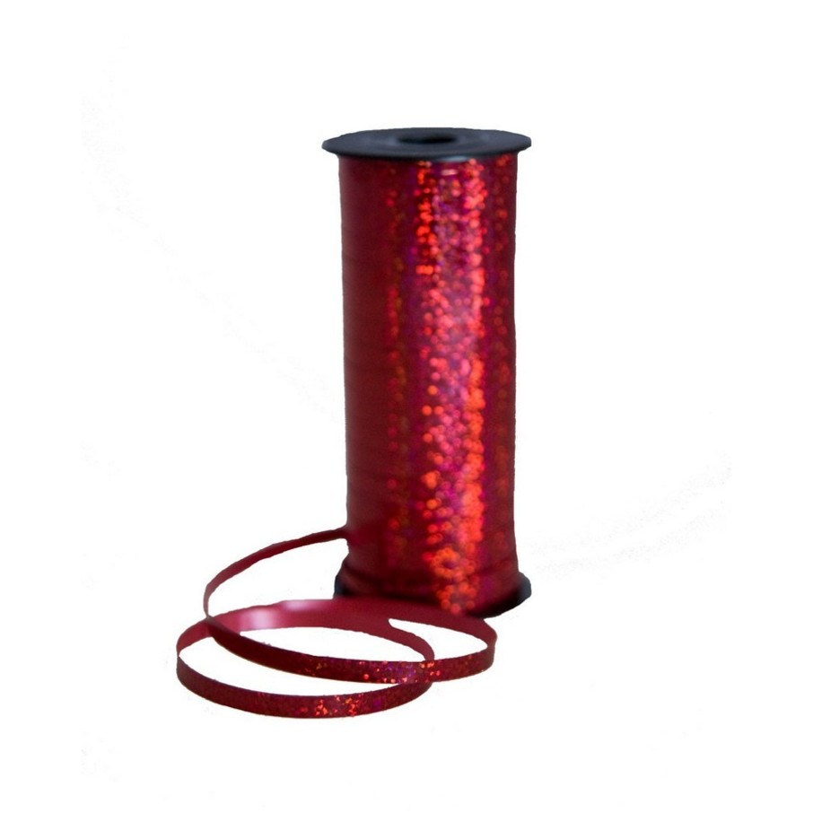 View larger image of Curling Ribbon 100 Yard - Holographic Red