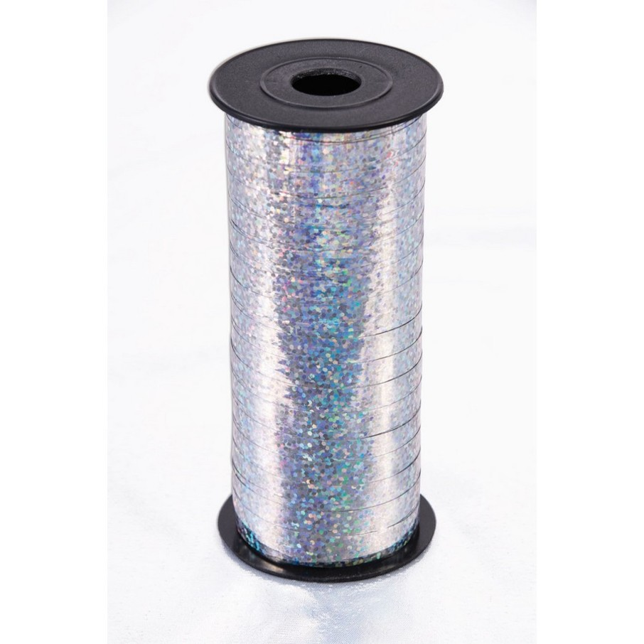 View larger image of Curling Ribbon 100 Yard - Holographic Silver