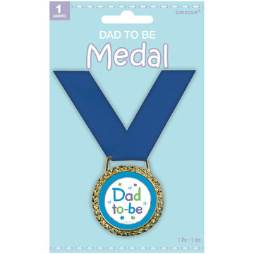 Dad to Be Award Medal