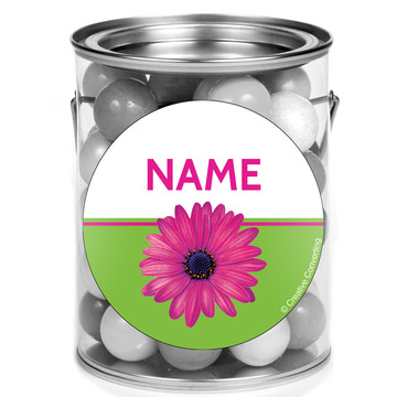 Daisy Power Personalized Mini Paint Cans (12 Count)