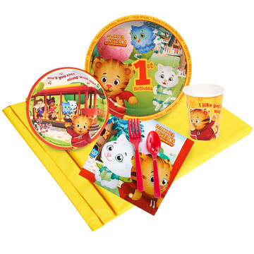 Daniel Tigers Neighborhood 1st Birthday Party Pack