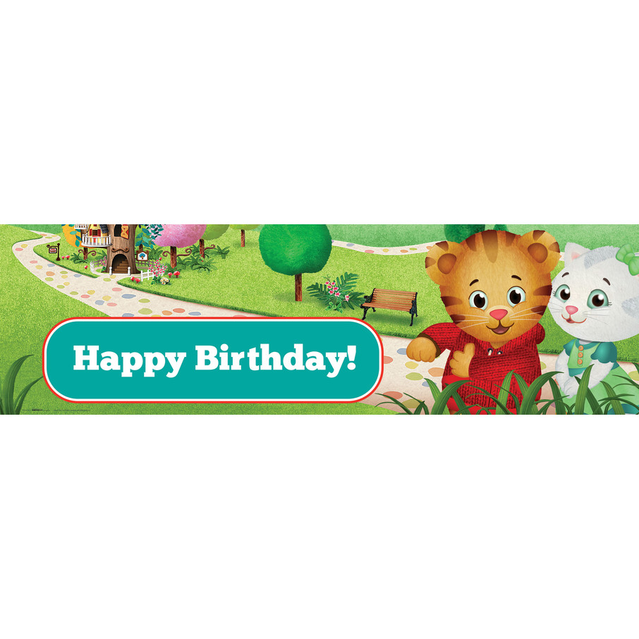 View larger image of Daniel Tiger's Neighborhood Birthday Banner