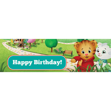 Daniel Tiger's Neighborhood Birthday Banner