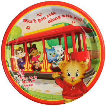 Daniel Tiger's Neighborhood Dessert Plates (8 Count)