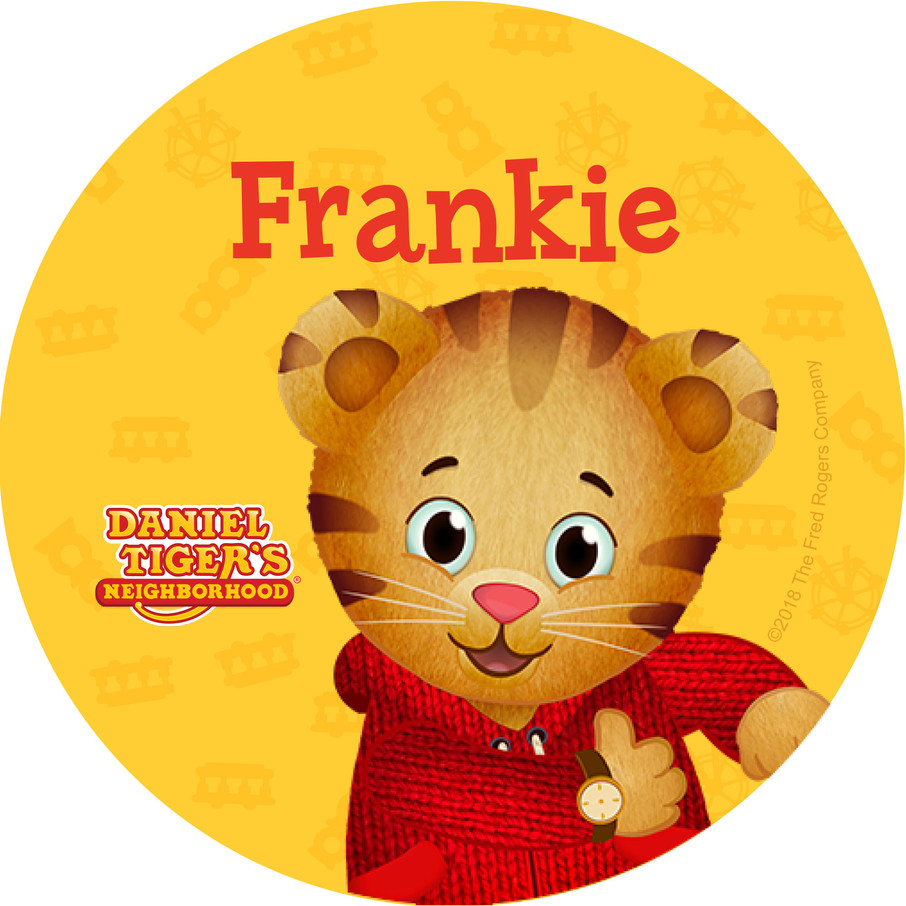 View larger image of Daniel Tiger's Neighborhood Personalized Mini Stickers (Sheet of 24)