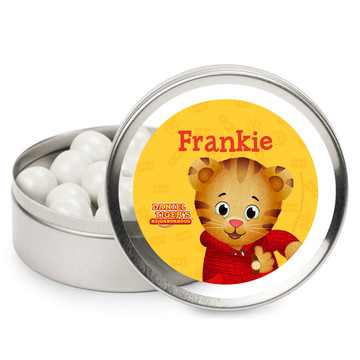 Daniel Tiger's Neighborhood Personalized Mint Tins (12 Pack)