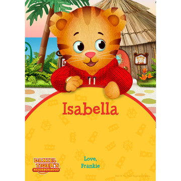 Daniel Tiger's Neighborhood Personalized Thank You (Each)