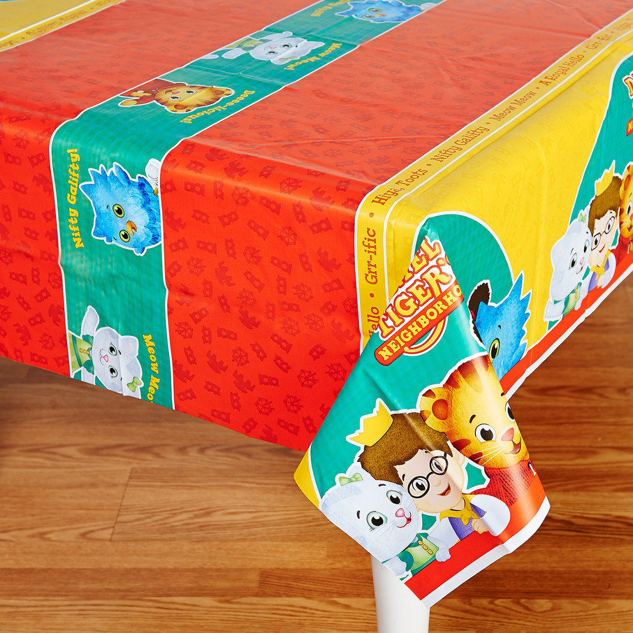 View larger image of Daniel Tiger's Neighborhood Plastic Tablecover