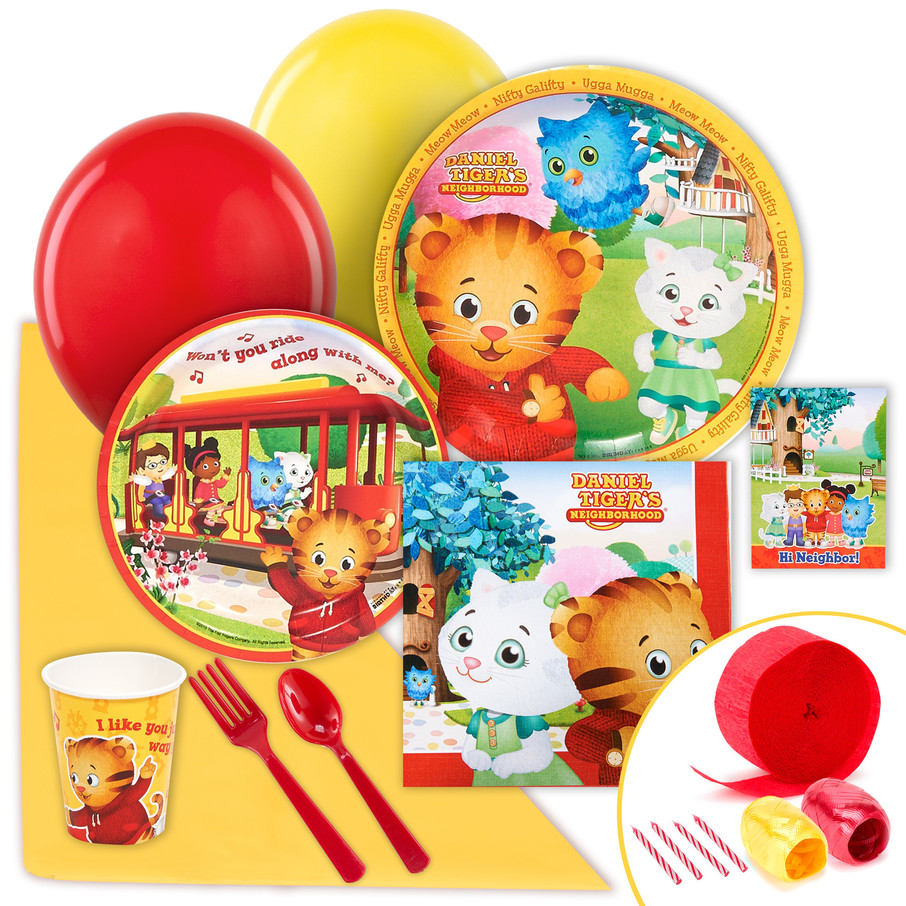 View larger image of Daniel Tiger's Neighborhood Value Party Pack