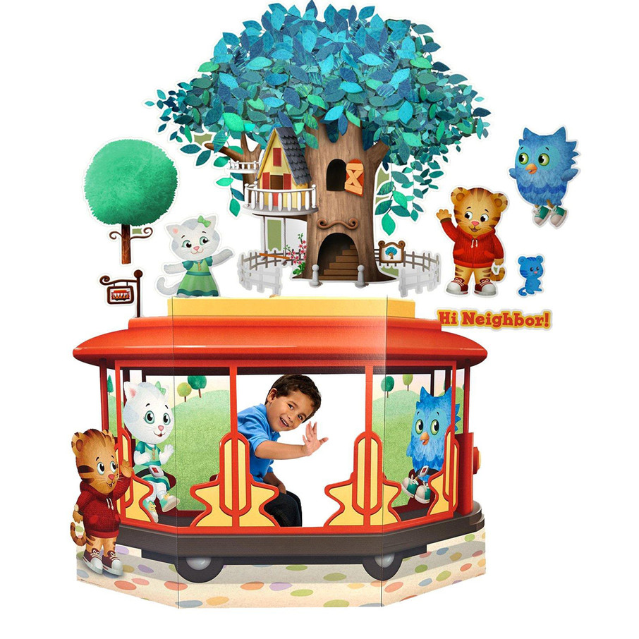 View larger image of Daniel Tiger's Neighborhood Wall Decal and Stand In Combo Pack