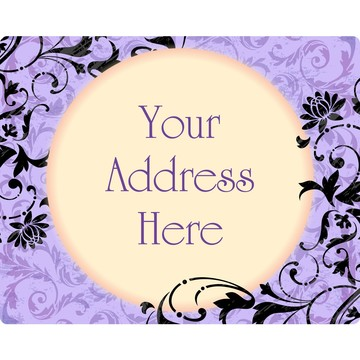 Dawn Personalized Address Label
