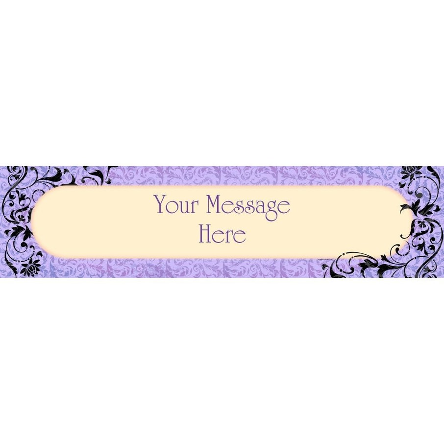 View larger image of Dawn Personalized Banner (each)