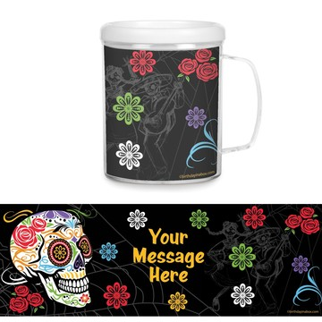 Day of the Dead Personalized Favor Mug (Each)
