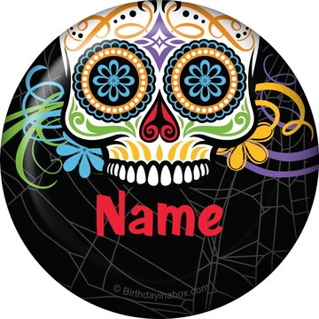 Day of the Dead Personalized Magnet (Each)