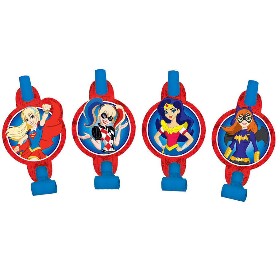View larger image of DC Super Hero Girls Blowouts (8 Count)