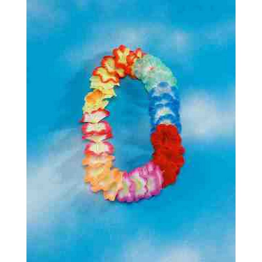 View larger image of Deluxe Extra Large Multi Color Flower Lei