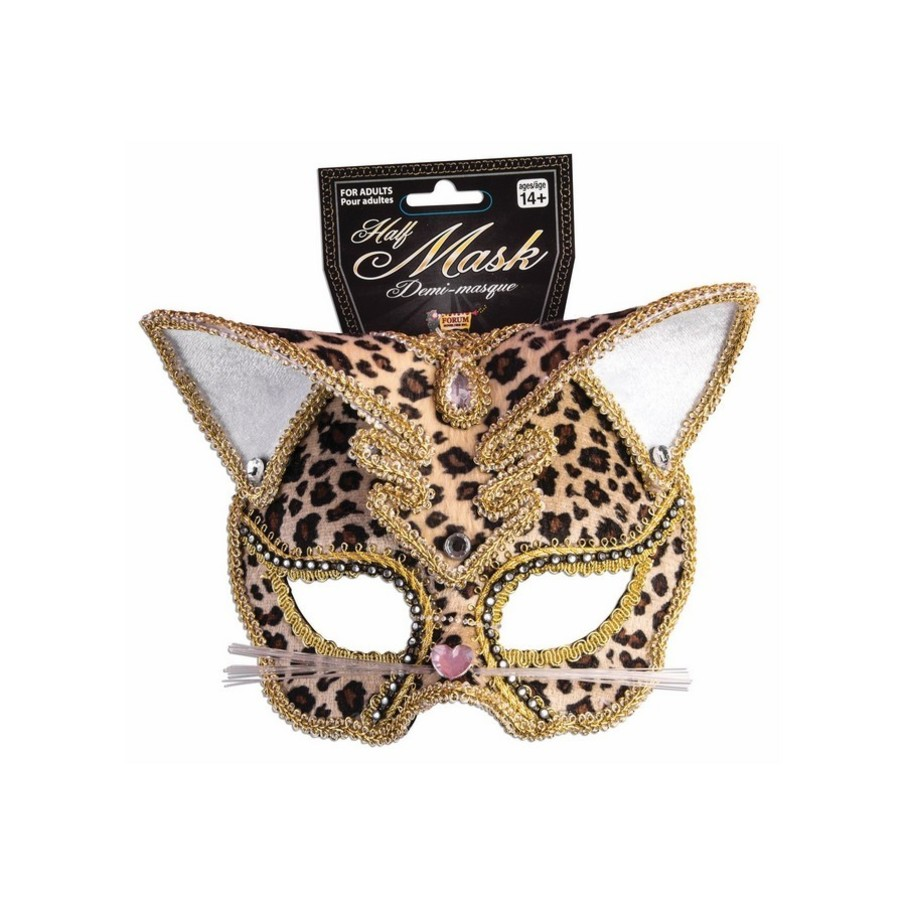View larger image of Deluxe Leopard Mask