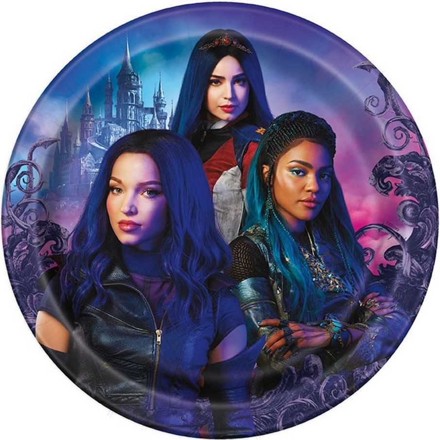 View larger image of Descendants 3 Lunch Plates, 8ct