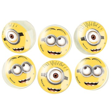 Despicable Me Bounce Balls (6 Count)
