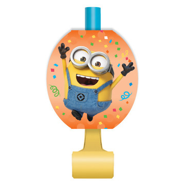 Despicable Me Minions Party Blowers (8)