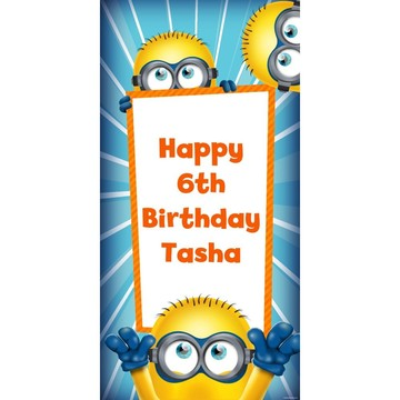 Despicable Me Personalized Oversized Banner 30x60""