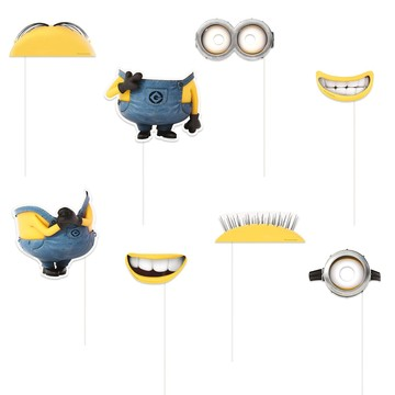 Despicable Me Photo Booth Props
