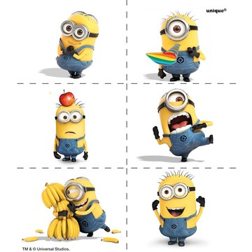 Despicable Me Tattoo (4 Sheets)