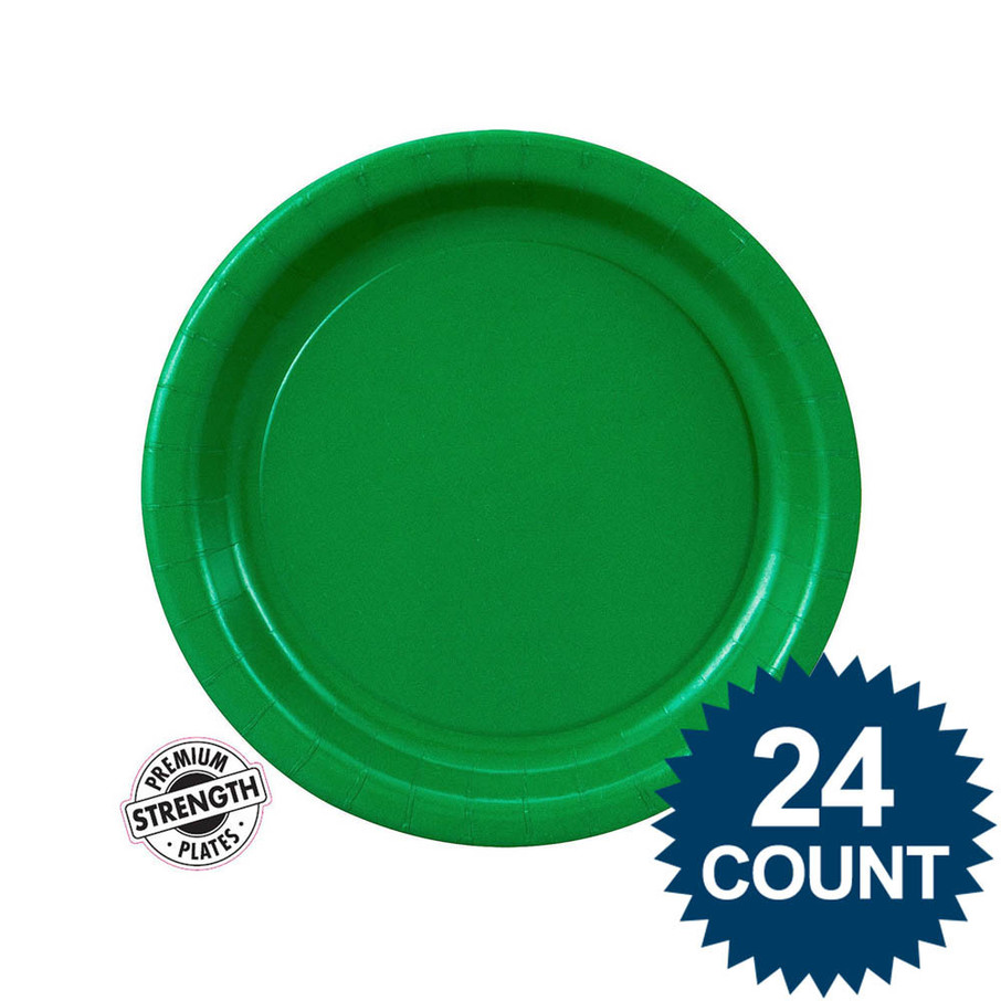 View larger image of Dessert Plate - Green (24)
