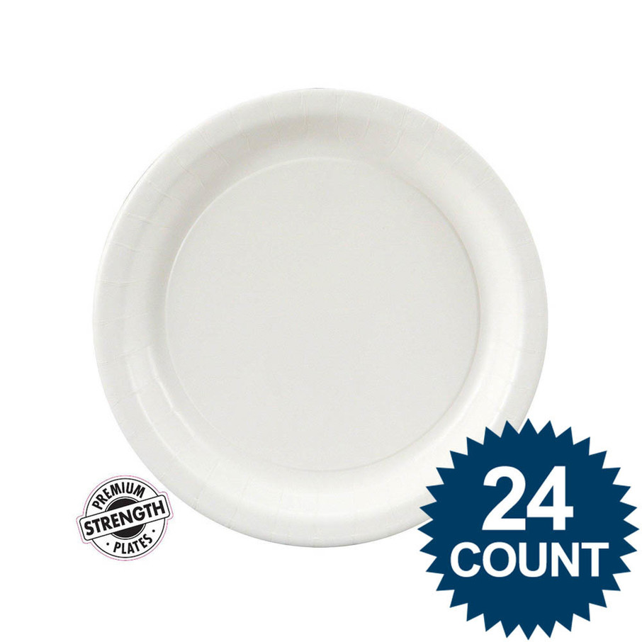 View larger image of Dessert Plate - White (24)
