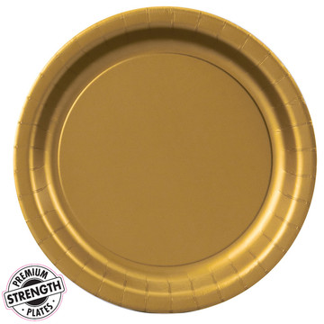Dinner Plate - Gold (24 Count)