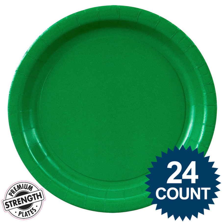 View larger image of Dinner Plate - Green (24)