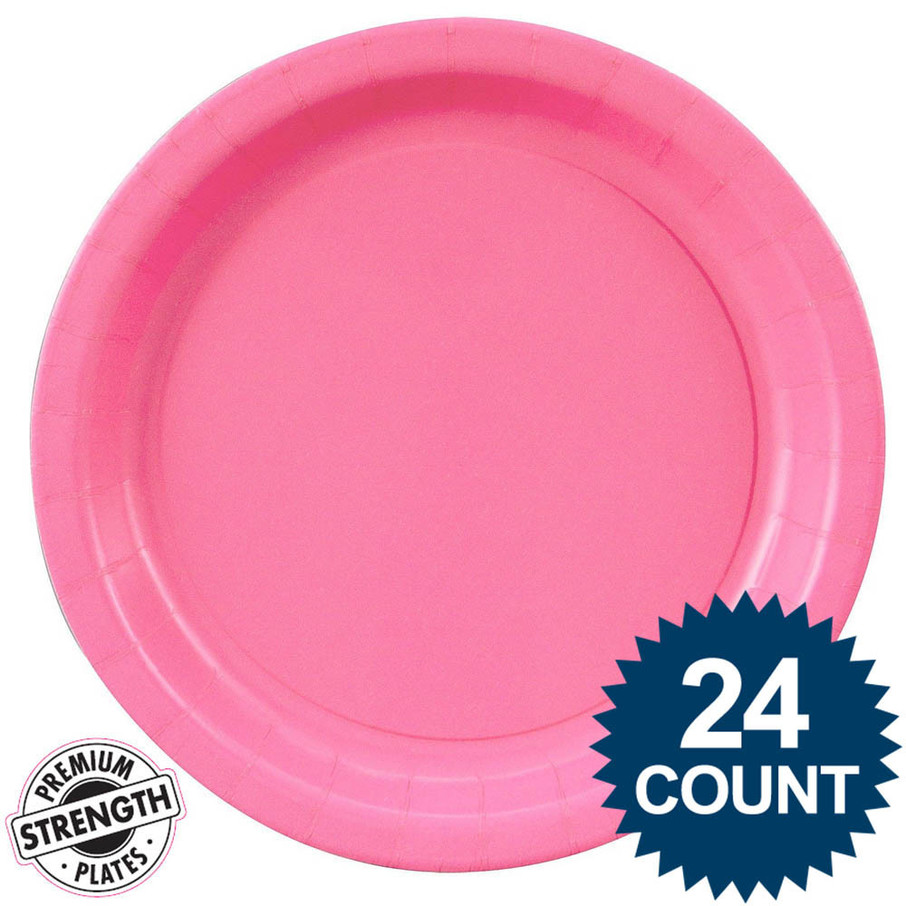 View larger image of Dinner Plate - Hot Pink (24)