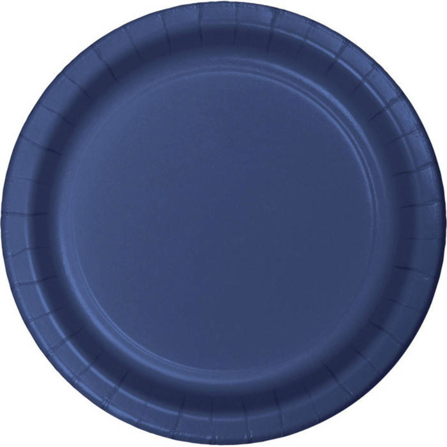 View larger image of Navy Dinner Plates (8)