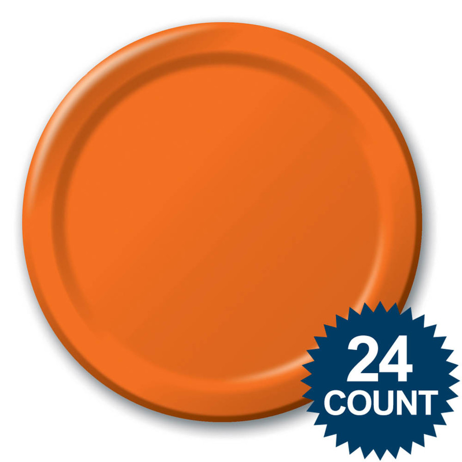 View larger image of Dinner Plate - Orange (24)