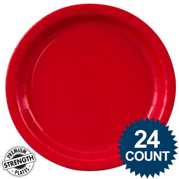 Dinner Plate - Red (24)