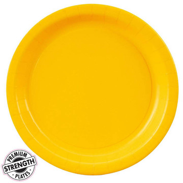 Dinner Plate - Yellow  (8)