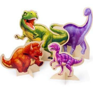 Dinosaur Adventure Centerpiece (set of 4)