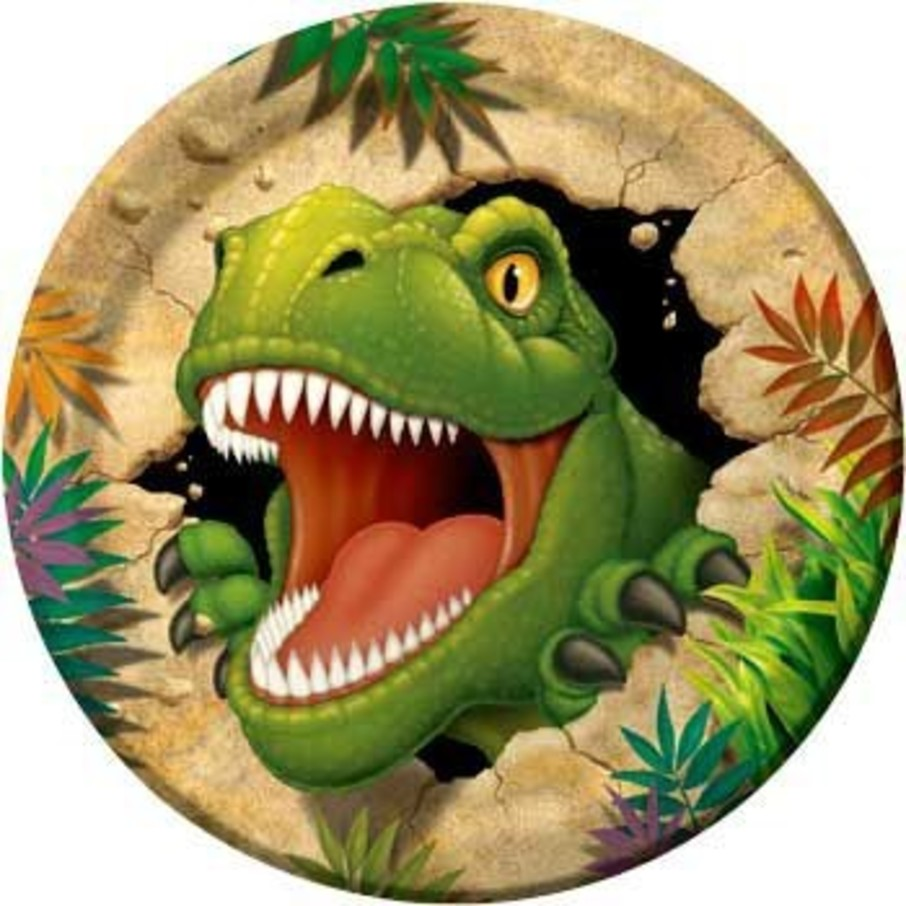 View larger image of Dinosaur Adventure Dinner Plates (8-pack)