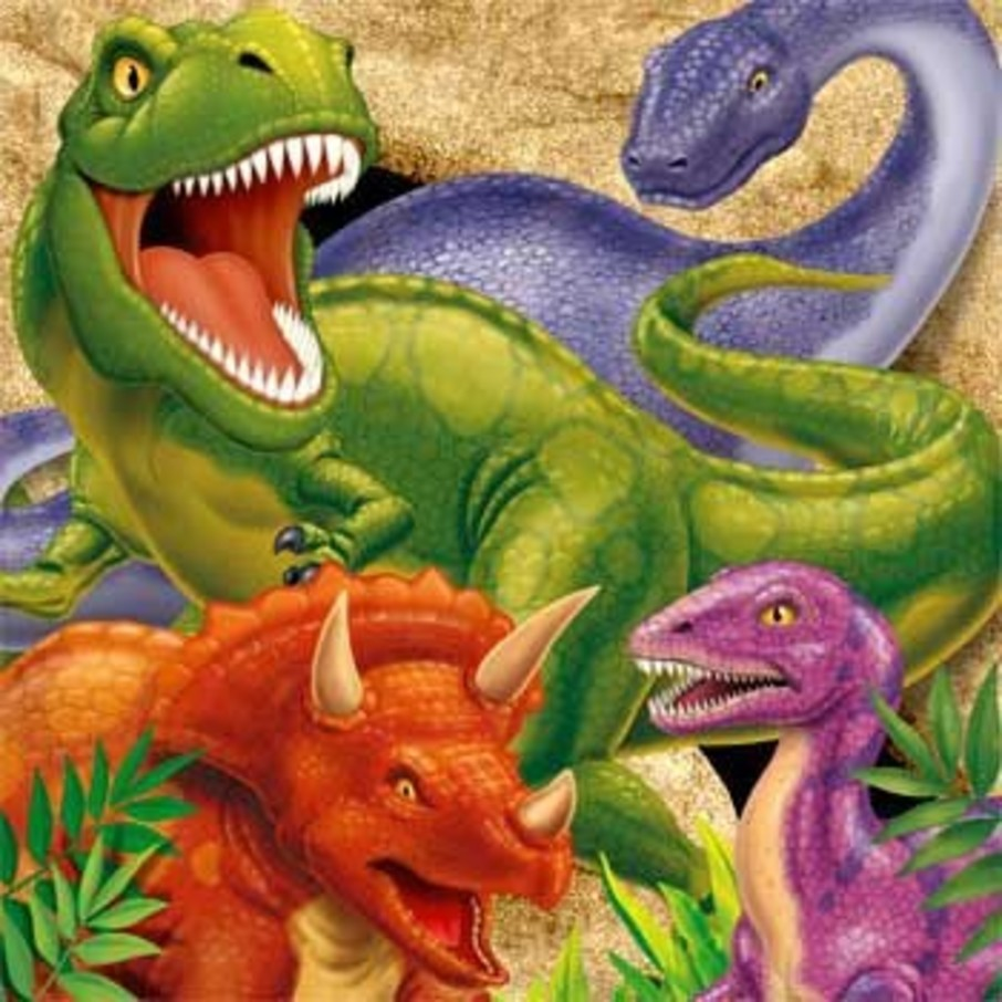 View larger image of Dinosaur Adventure Napkins (16-pack)