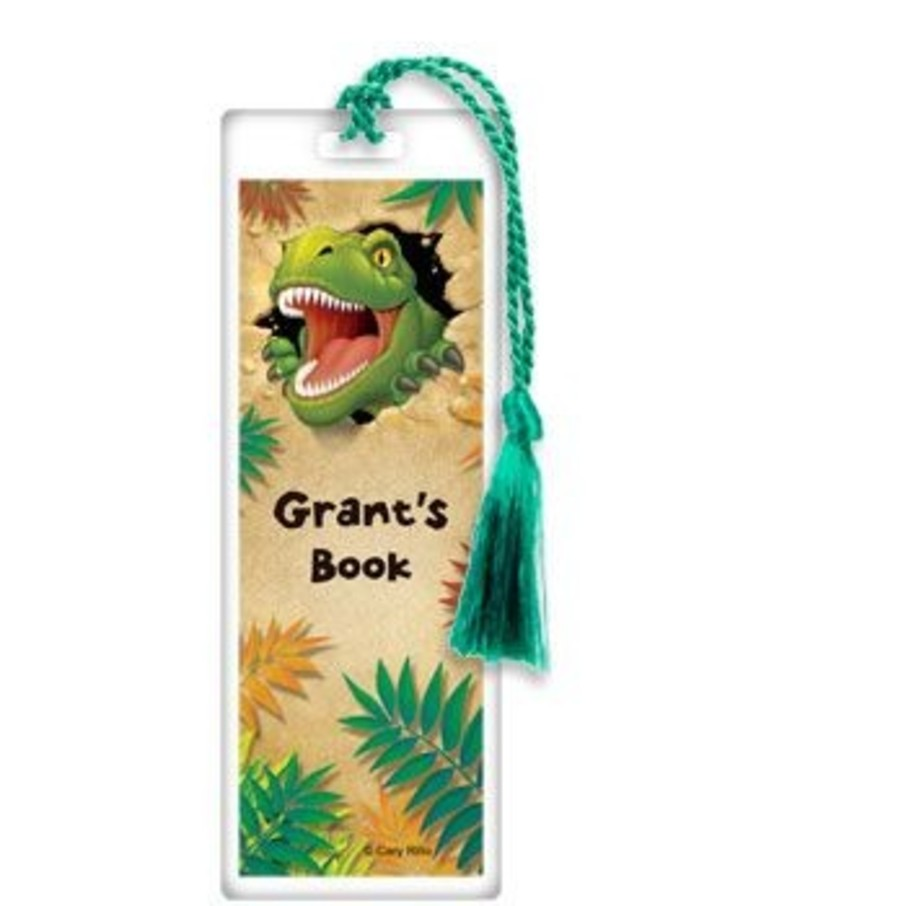 View larger image of Dinosaur Adventure Personalized Bookmark (each)