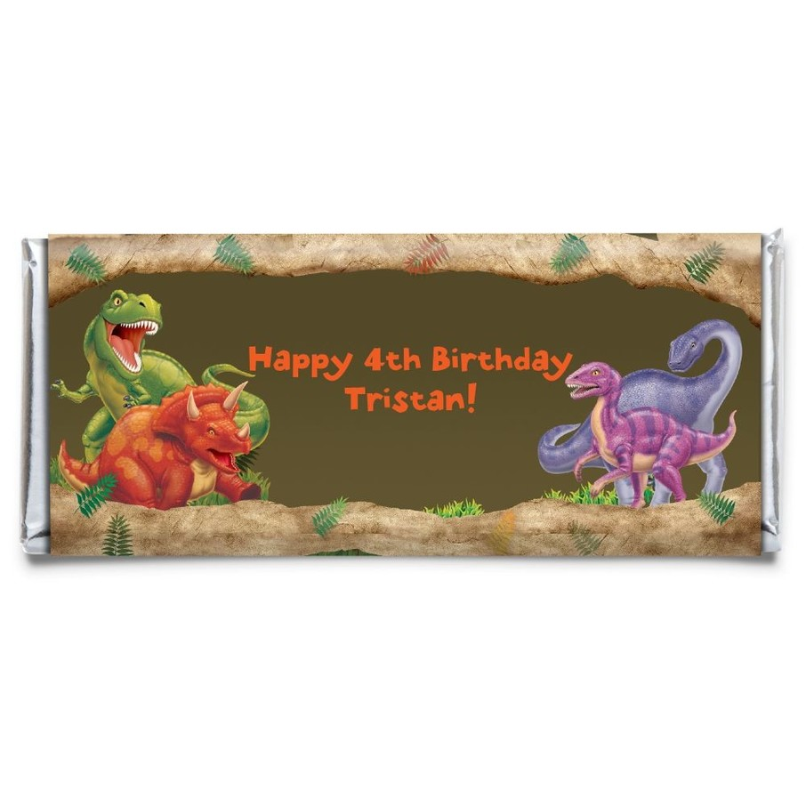 View larger image of Dinosaur Adventure Personalized Candy Bar Wrapper (Each)