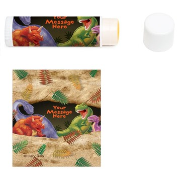 Dinosaur Adventure Personalized Lip Balm (12 Pack)