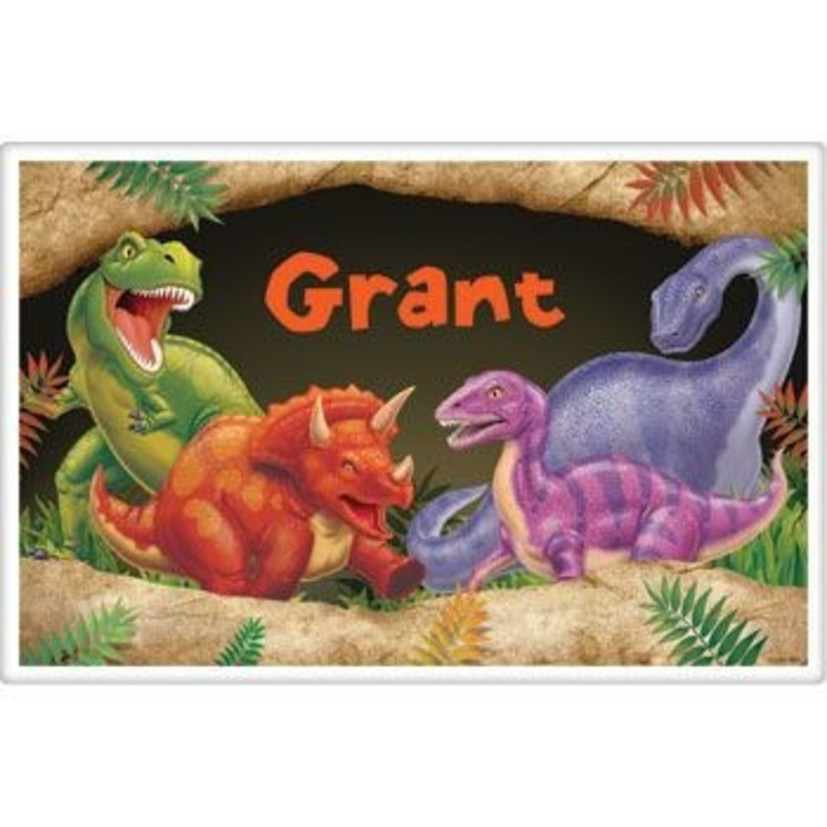 View larger image of Dinosaur Adventure Personalized Placemat (each)
