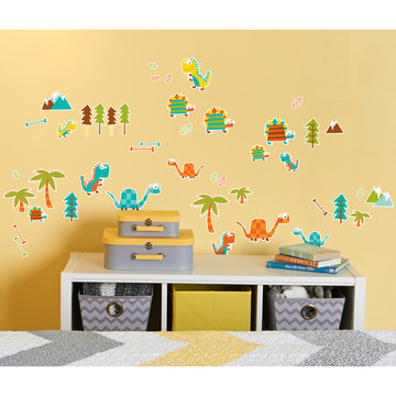 Dinosaur Friends Small Wall Decal