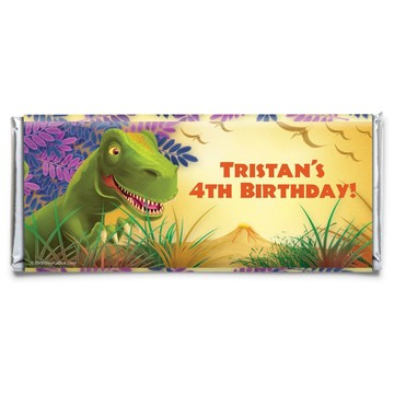 Dinosaur Party Personalized Candy Bar Wrapper (Each)